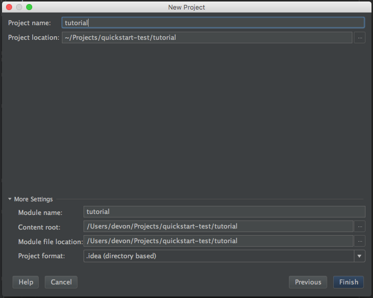 IntelliJ Quickstart — GeoTools 23-SNAPSHOT User Guide